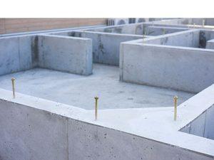 戸建て住宅の基礎工事