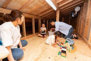 小屋裏も使える四季の家