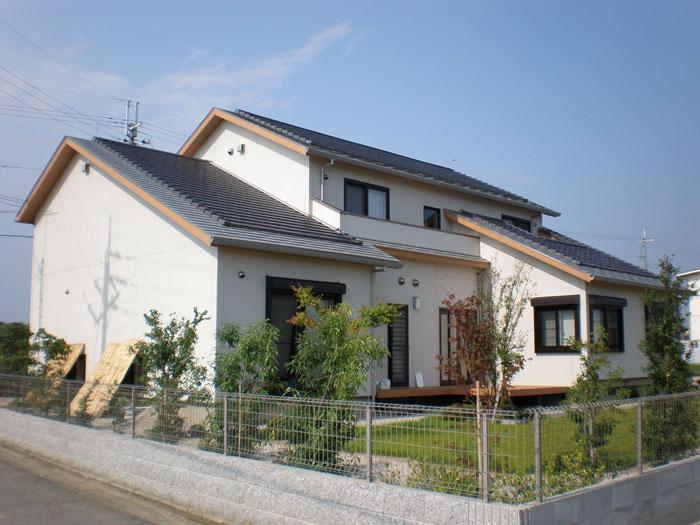 ソーラーサーキットの家のモデルハウス