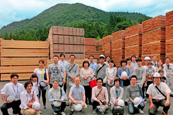 兵庫県産木材製材所の画像