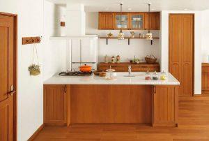 注文住宅のキッチン