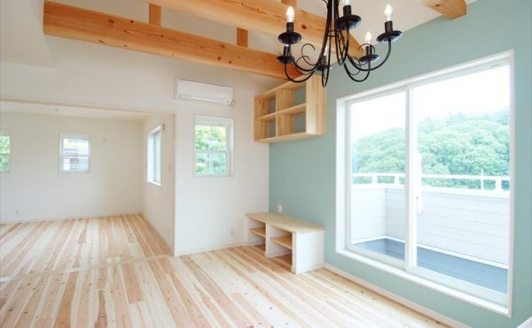 神戸市北区の北欧風住宅