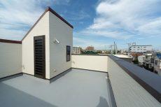 明石市の屋上がある注文住宅