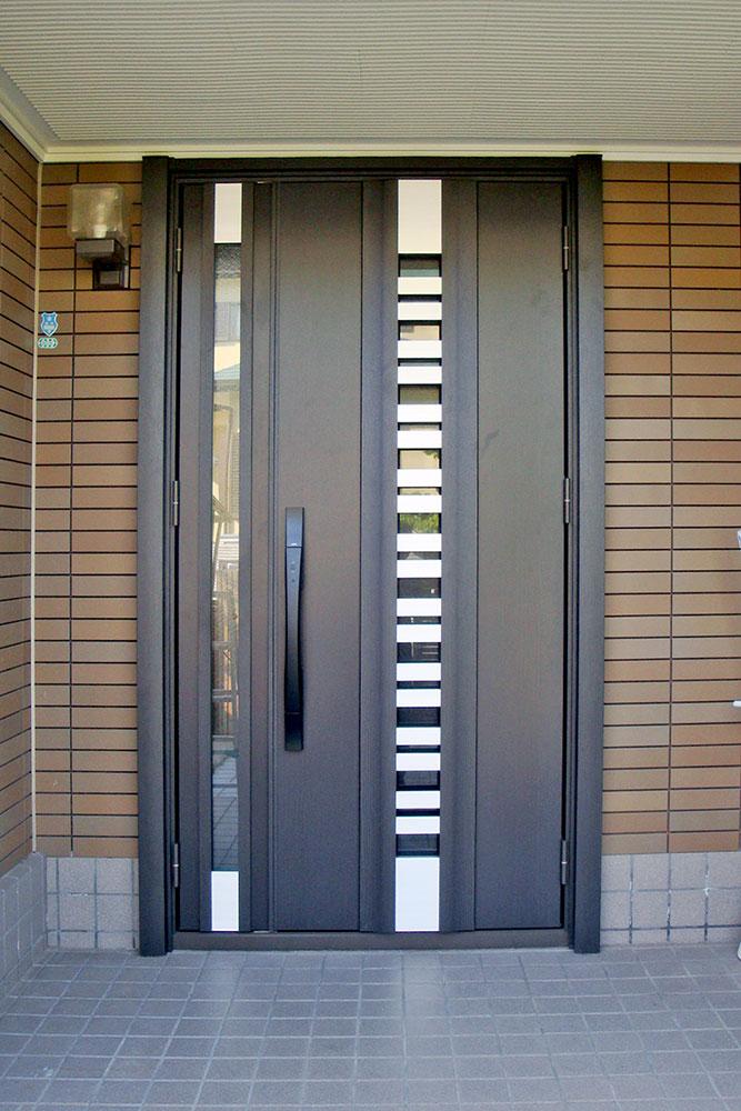 神戸市の玄関ドアリフォーム