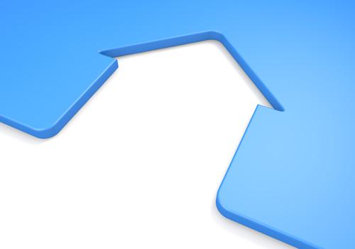 シンプルな家の形
