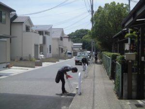 注文住宅の現場清掃