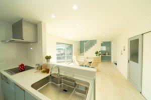 神戸市西区のキッチンの施工事例