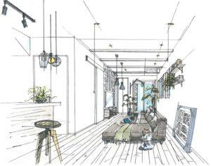 明石市の完成見学会のイメージ