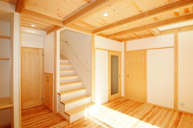 神戸市の木の家注文住宅もりの木の家