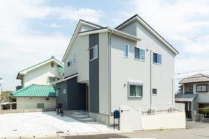 神戸市西区の外観の施工事例