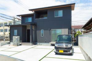 神戸市西区の木の家の和風外観