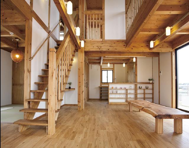 神戸の自然素材住宅の画像