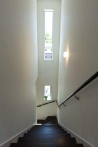 神戸市西区の階段の景色