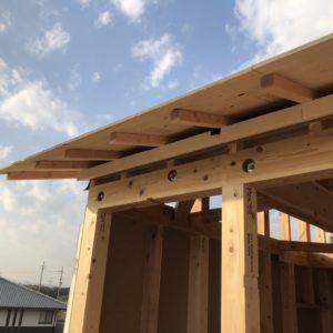 神戸の注文住宅の屋根二重構造