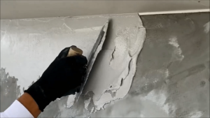 外壁漆喰塗装
