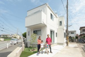 神戸市西区の注文住宅の施工事例