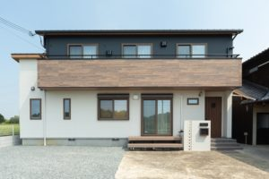 神戸市の注文住宅の施工事例