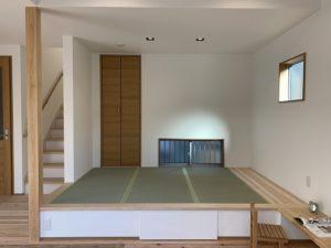 神戸市注文住宅の和室の施工事例
