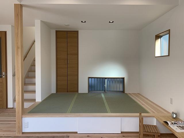 注文住宅の和室の施工事例