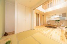 断熱の家の和室
