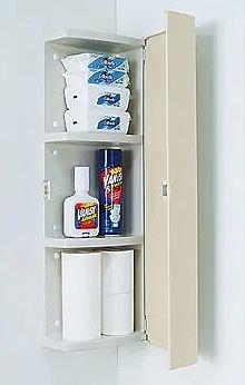 トイレの収納のリフォーム