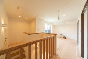 木の家のフリースペース