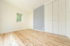 注文住宅の洋室の施工事例