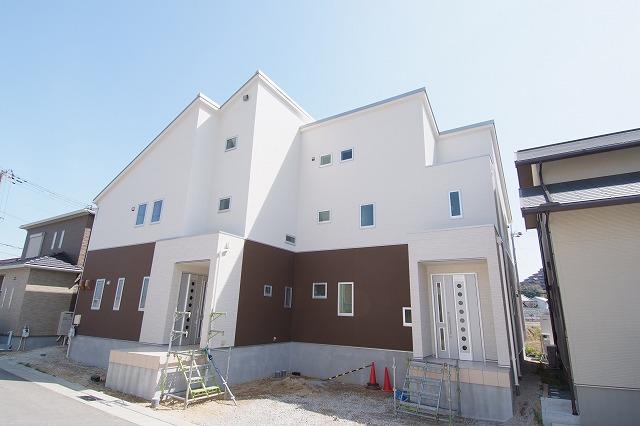 神戸の完全分離型2世帯住宅の画像