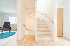 神戸の注文住宅の階段